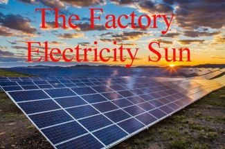 the factory electricity sun
